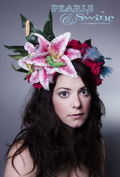 Check out these crazy head pieces...