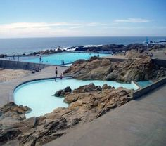 Leça Swimming Pools - it sure has changed since the last time I've been there (I was 16, now I'm 41)