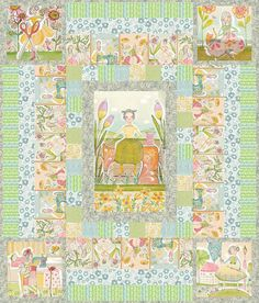 Tea for Two BBD Creation Fusible Applique Quilt Pattern