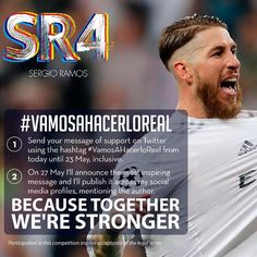 2016-05-17 15:32:26Its time to fight for the dream of la Undécima. TOGETHER. Participate in #VamosAHacerloReal on Twitter. Good luck!
