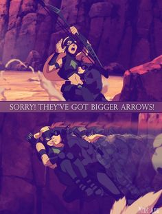 They've got bigger arrows! by Mini-Ann.deviantart.com on @DeviantArt
