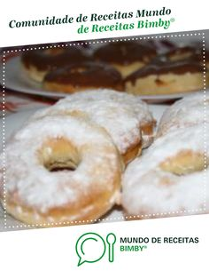 Donuts no forno Donuts, Doughnut, Cookies, Drink, Cake, Desserts, Kitchen Quotes, Individual Cakes, Bread Cake