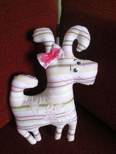 Cachorrinho de tecido