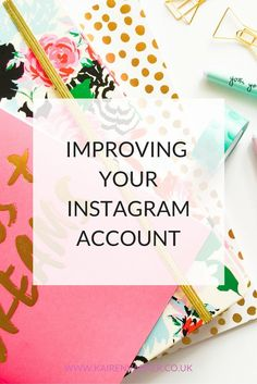 Improving your Instagram account can help towards getting more likes and comments and also more readers to your blog. Now thats worth doing