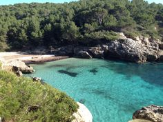 Cala Fustam, on a Spring day. Spring Day, January, Heaven, River, Outdoor, Outdoors, Sky, Rivers, Outdoor Games