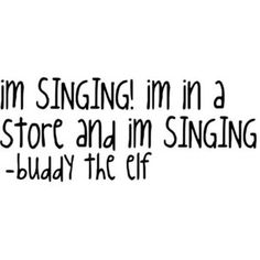 I think more people need to just let go and sing in a store....i do. so if they did i would feel less awkward when i do!