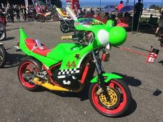Yoshi Motorcycle