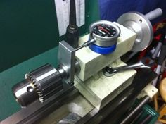 Tailstock Dial Indicator Stop with Magnetic Indicator