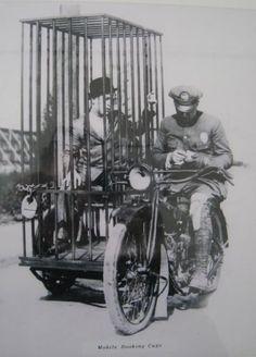 Harley Davidson Mobile Booking Cage