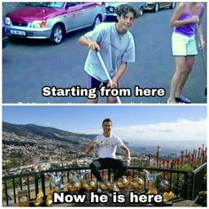 """'Hardwork never goes wasted!'❤#LEGEND......Cris: """"When I played in the streets of Madeira and dreamed of reaching the top, I did not think I would take a picture like that. I dedicate this moment to my family, friends, teammates, coaches and club structures and selection. Special thanks to the fans. These trophies are yours too!""""❤"""