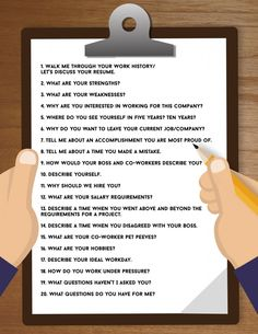 Ace Your Next Job Interview: How to Answer 20 Common Questions Common Job Interview Questions, Job Interview Preparation, Interview Skills, Job Interview Tips, Job Interviews, Job Resume, Resume Tips, Resume Examples, Resume Ideas