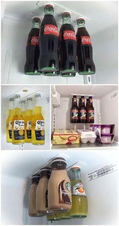 Si tu cocina siempre termina hecha un desastre, o no sabes cómo almacenar tus productos y tustrastes, entonces estos trucos te sorprenderán. Hay unos con los que realmente no necesitas gastar, así que porte las pilas y organiza toda tu cocina de la forma más fácil. 1. Recicla tus cartones de refrescos o cervezas para …