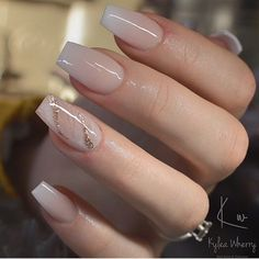 54 Beautiful and romantic nail art design ideas - mix-matched neutral nails, nud. - 54 Beautiful and romantic nail art design ideas – mix-matched neutral nails, nude nails ,nail acr - Bride Nails, Prom Nails, Weddig Nails, Gorgeous Nails, Pretty Nails, Cute Simple Nails, Cute Pink Nails, Perfect Nails, Coffin Nails Designs Summer