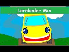 Die Räder vom Bus - Hit Mix in Deutscher Sprache - Fünf kleine Affen, ABC Lied etc... Yleekids Dt. - YouTube