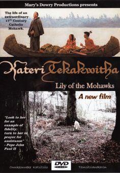 Saint Kateri Tekakwitha DVD, Lily of the Mohawks, Iroquois, Native American, Catholic Saint, Jesuit Missionaries