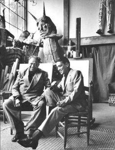 Diego Rivera y Cantinflas