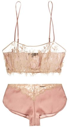 Love this delicate lingerie set