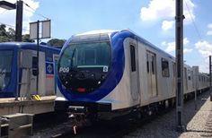 Pregopontocom Tudo: Anunciados como novos, trens parados desde 2013 2013 entram em operação no metrô de SP...