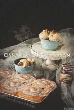 Cinnamon Bun Ice Cream