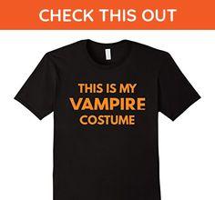 Mens This Is My Vampire Costume t-shirt - Halloween Holiday Medium Black - Fantasy sci fi shirts (*Amazon Partner-Link)