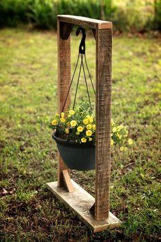 Plant Hanging Basket Stand