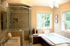 Bathroom Makeovers-new lights, change of paint colors, new accessories-new bathroom!