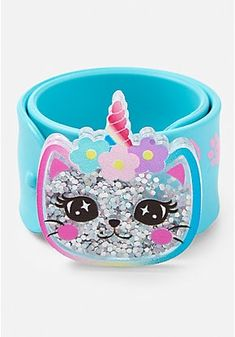 Justice is your one-stop-shop for on-trend styles in tween girls clothing & accessories. Shop our Caticorn Shaky Charm Slap Bracelet . Best Friend Bracelets, Slap Bracelets, Best Friend Jewelry, Bangle Bracelets With Charms, Buy Gift Cards, Girls Fashion Clothes, Lol Dolls, Tween Girls, Girls Jewelry