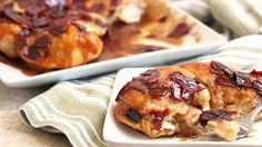 Jocelyn Delk Adams  Grandbaby Cakes   shares an easy, bacon-y twist on caramel rolls.