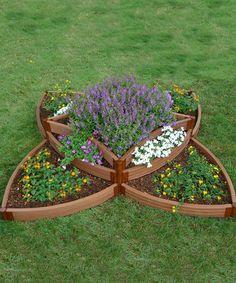 Look what I found on #zulily! Versailles Sunburst Raised Garden Bed Frame by Contech #zulilyfinds