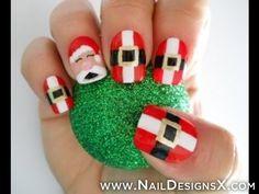 christmas nail desing