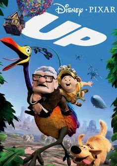 Up (2009) After a lifetime of dreaming of traveling the world, 78-year-old homebody Carl (voiced by Ed Asner) flies away on an unbelievable adventure with Russell, an 8-year-old Wilderness Explorer (Jordan Nagai), unexpectedly in tow. Together, the unlikely pair embarks on a thrilling odyssey full of jungle beasts and rough terrain. Other voices in the Oscar-winning film include the renowned Christopher Plummer and Pixar stalwart John Ratzenberger.