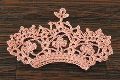 Tesourinha: Coroa em crochê
