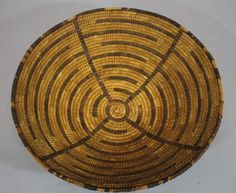 Authentic-Antique-circa-1900-Western-Native-American-Plains-Indian-Basket-NR
