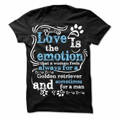 Awesome Golden Retriever Lovers Tee Shirts Gift for you or your family your friend:  Golden retriever love Tee Shirts T-Shirts