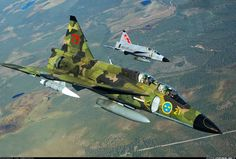Aviones Caza y de Ataque: Saab SK 37E