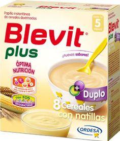 167588 Blevit Plus Duplo 8 Cereales con Natillas - 600 gr.