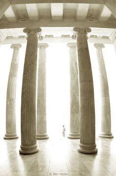 """""""Attic clarity is not just metaphor;"""" __Gore Vidal, Julian [Credit - Enter in the Light Athens Greece] Ancient Ruins, Ancient Greece, Ancient Egypt, Ancient History, Beautiful Architecture, Architecture Details, Classical Architecture, Go Greek, Athens Greece"""
