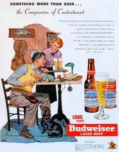 Pôster Budweiser - Something More Than Beer...