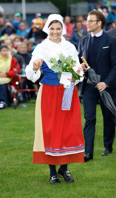 Princess Victoria - Victoriadagen 2011 - Celebration Of Princess Victoria's 34th Birthday