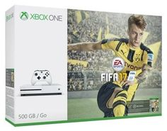 Big deal Xbox One S Console - FIFA 17 Bundle discover this and many other bargains in Crazy by Deals, we bring daily the best discounts for you Cheap Xbox One, Free Xbox One, Xbox One S 1tb, Xbox 1, Fifa 17, Video Games Xbox, Xbox One Games, Microsoft, Manette Xbox One