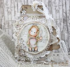 Gorgeous card by Camilla, using papers from Vintage Romance