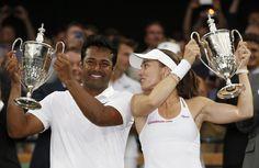 Leander Paes and Martina Hingis