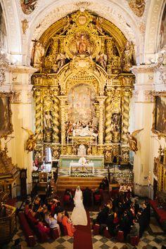 La boda sevillana de Pilar y José -
