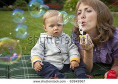 baby bubbles photoshoot