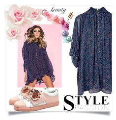 """""""style Passion"""" by tuaptstore ❤ liked on Polyvore featuring GALA, floral, jumpsuit and fashionset"""