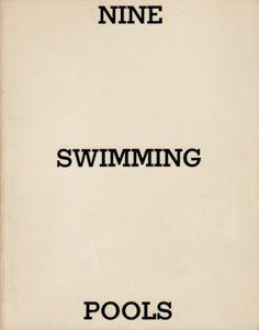 Ed Ruscha Nine Swimming Pools, 1968-1997