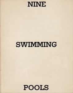 1000 Images About Ed Ruscha On Pinterest Artist 39 S Book Swimming Pools And Sunset Strip