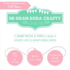Crafty4U by Página 4: 'Mi gran boda Crafty'... y esto qué es lo que es?