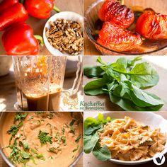 Kuchařka ze Svatojánu Potato Salad, Potatoes, Vegetarian, Vegan, Ethnic Recipes, Foods, Red Peppers, Food Food, Food Items