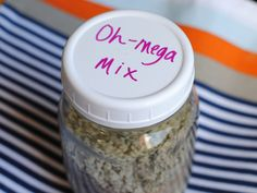 A creative way to get healthy omega fatty acids in your diet...and your kids diet!